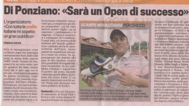 """Di Ponziano: """"Sarà un Open di successo"""""""
