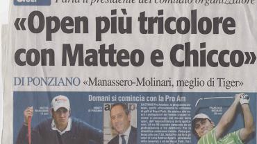 """""""Open più tricolore con Matteo e Chicco"""""""