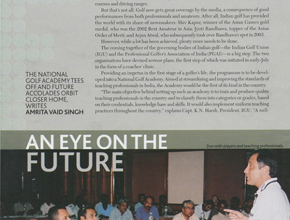 An eye on the future